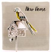 New Home Embellished Greeting Card
