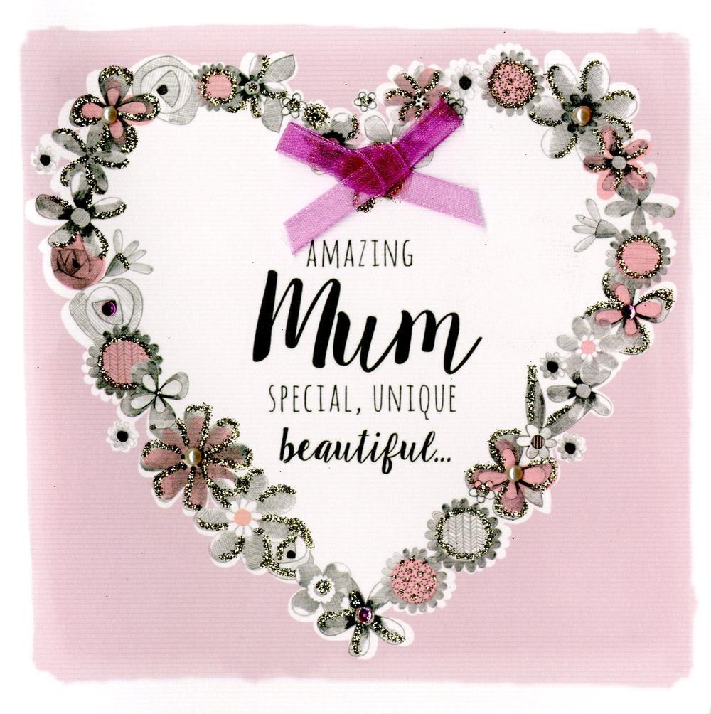 Wonderful Mum Birthday Greeting Card