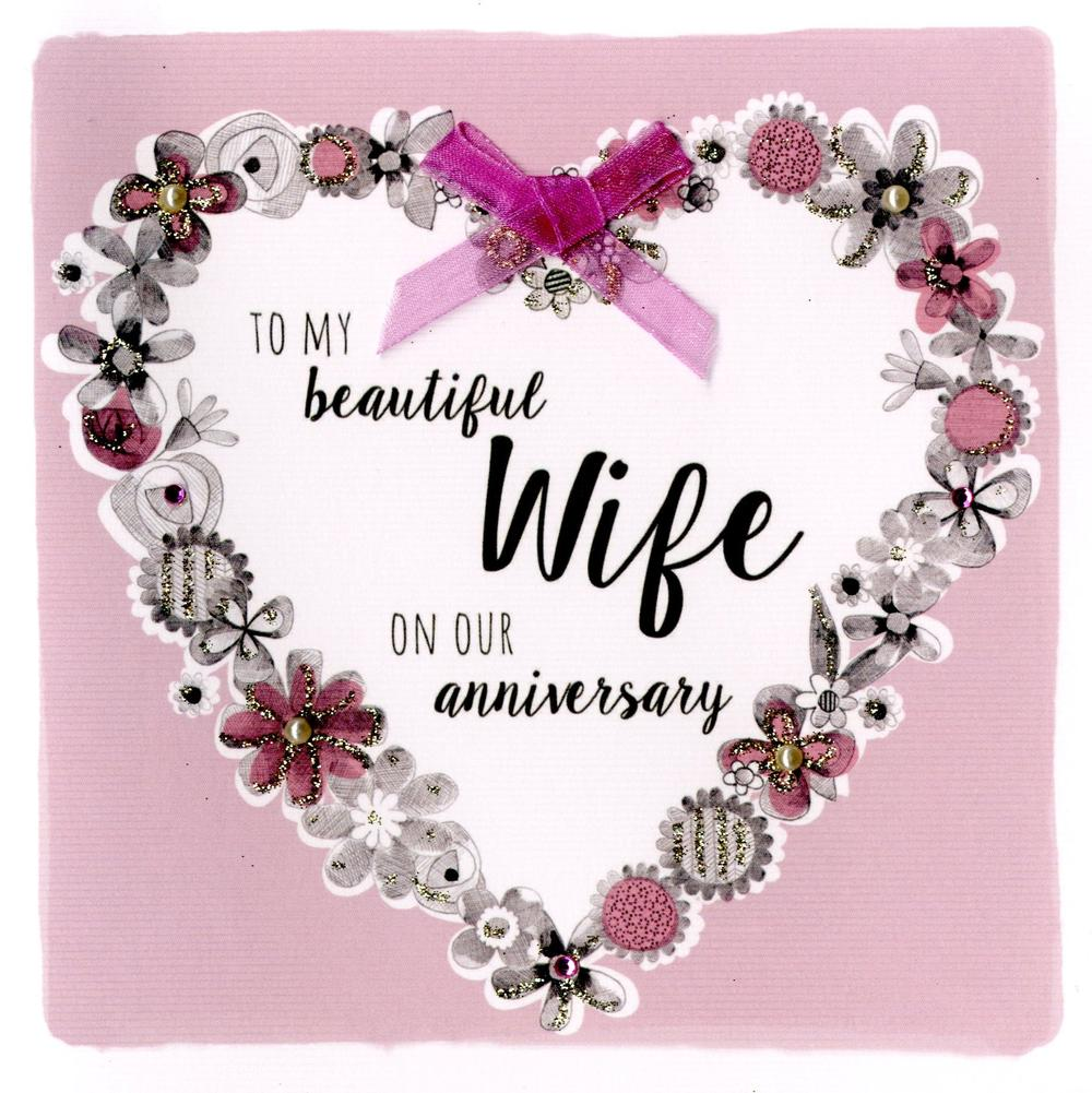 Beautiful Wife Birthday Greeting Card