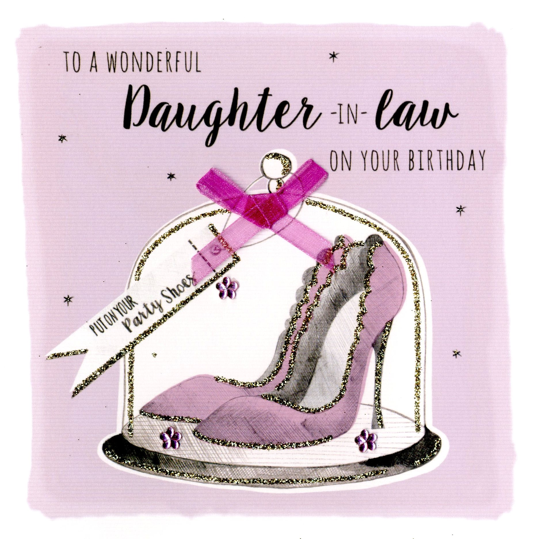 Daughter In Law Birthday Greeting Card