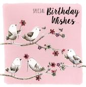 Special Birthday Wishes Greeting Card