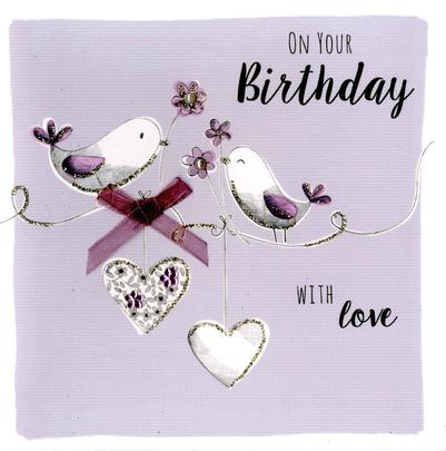 On Your Birthday Greeting Card