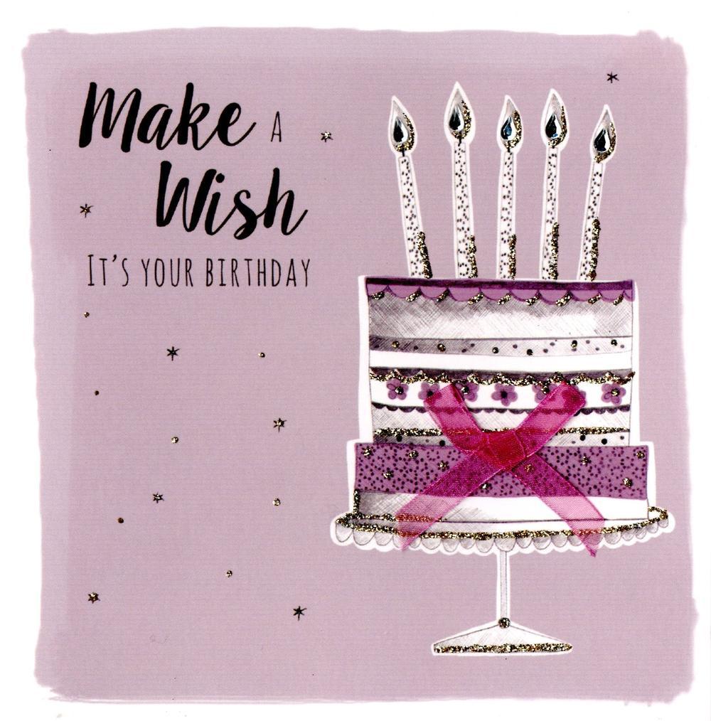 Make A Wish Birthday Greeting Card