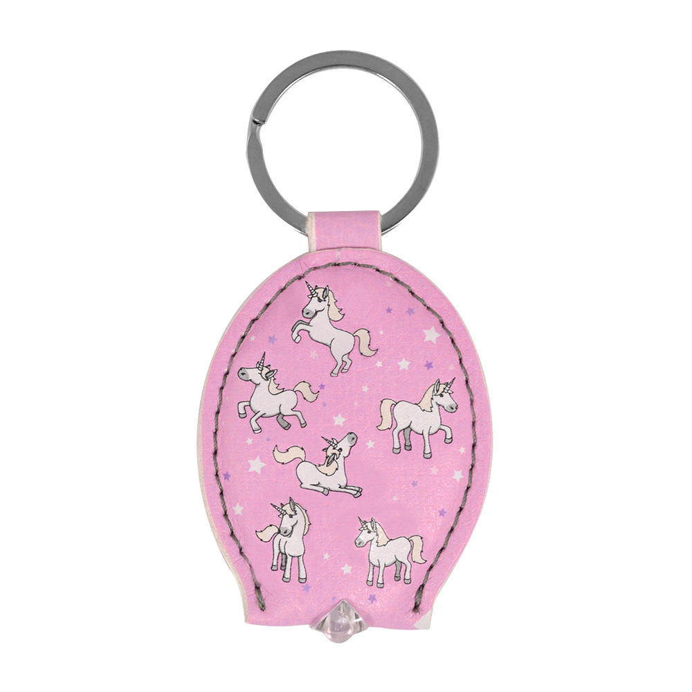 Ella Bella Rose Unicorn LED Keylight Keyring