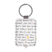 Ella Bella Rose My Keys LED Keylight Keyring