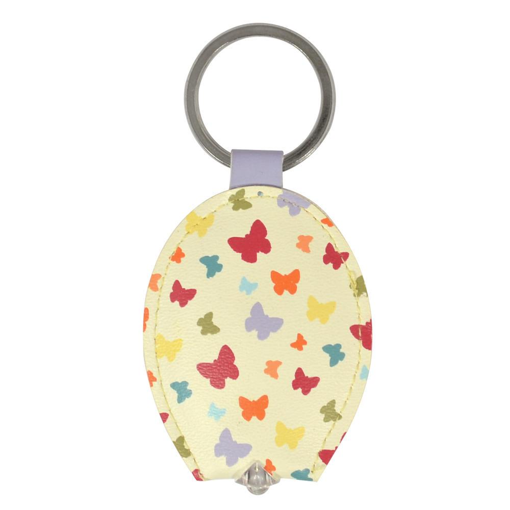Ella Bella Rose Butterflies LED Keylight Keyring