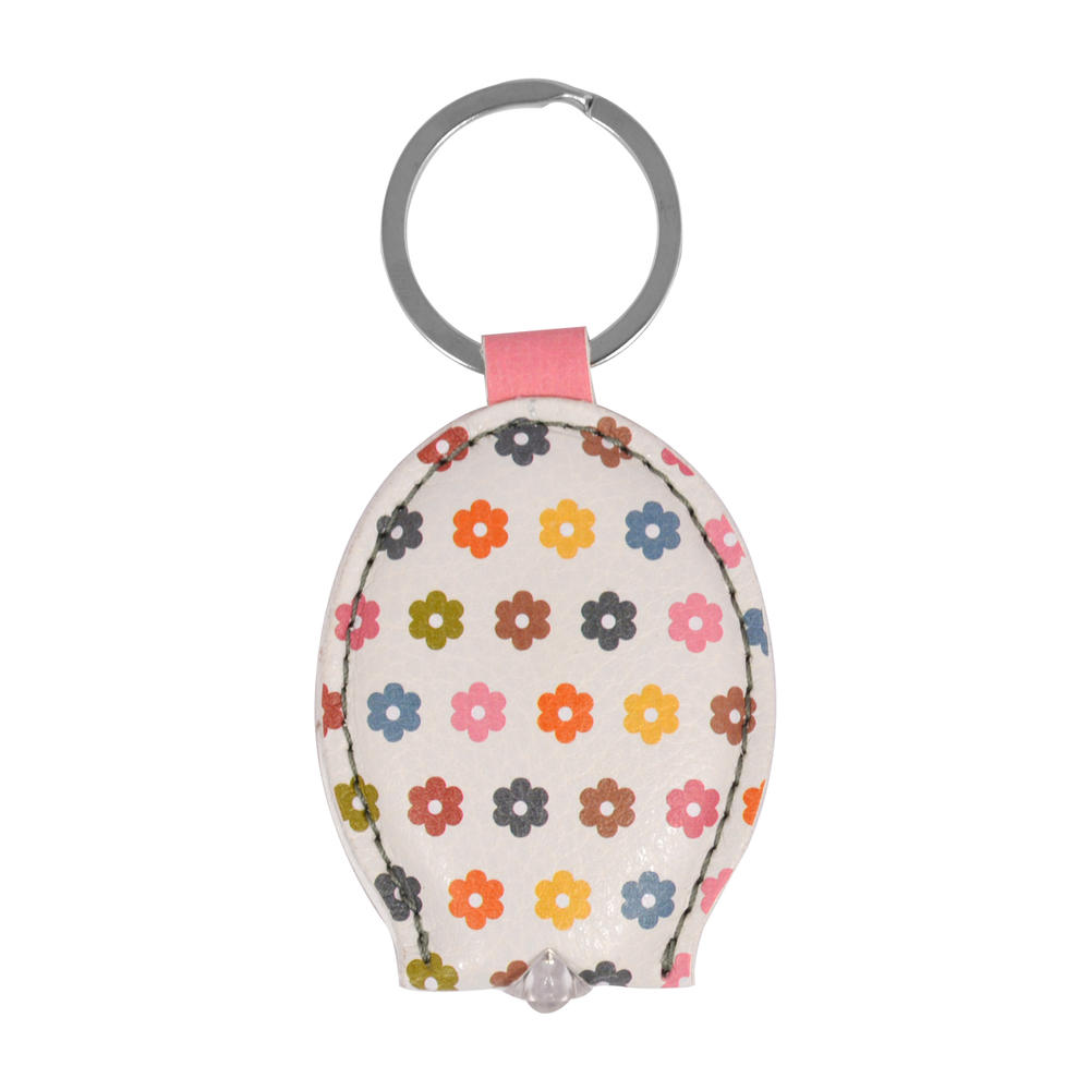 Ella Bella Rose Multicoloured Flowers LED Keylight Keyring