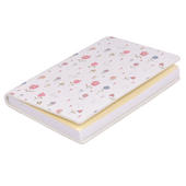 Ella Bella Rose Flowers Pattern Pocket Notebook