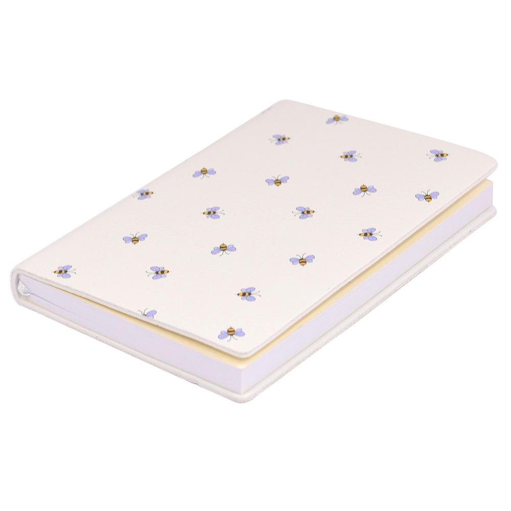 Ella Bella Rose Bees Pattern Pocket Notebook