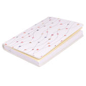 Ella Bella Rose Hearts Pattern Pocket Notebook