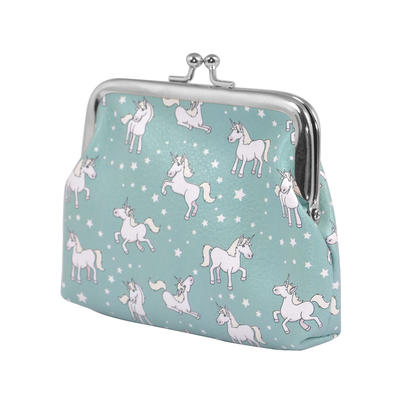 Ella Bella Rose Unicorn Coin Purse