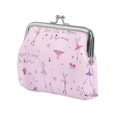 Ella Bella Rose Ballerinas Coin Purse