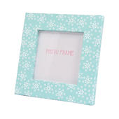 Ella Bella Rose Daisy Pattern Photo Frame