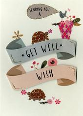 Sending You A Get Well Wish Greeting Card