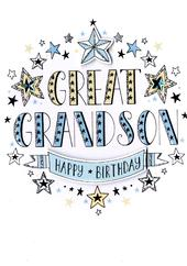Great-Grandson Birthday Greeting Card