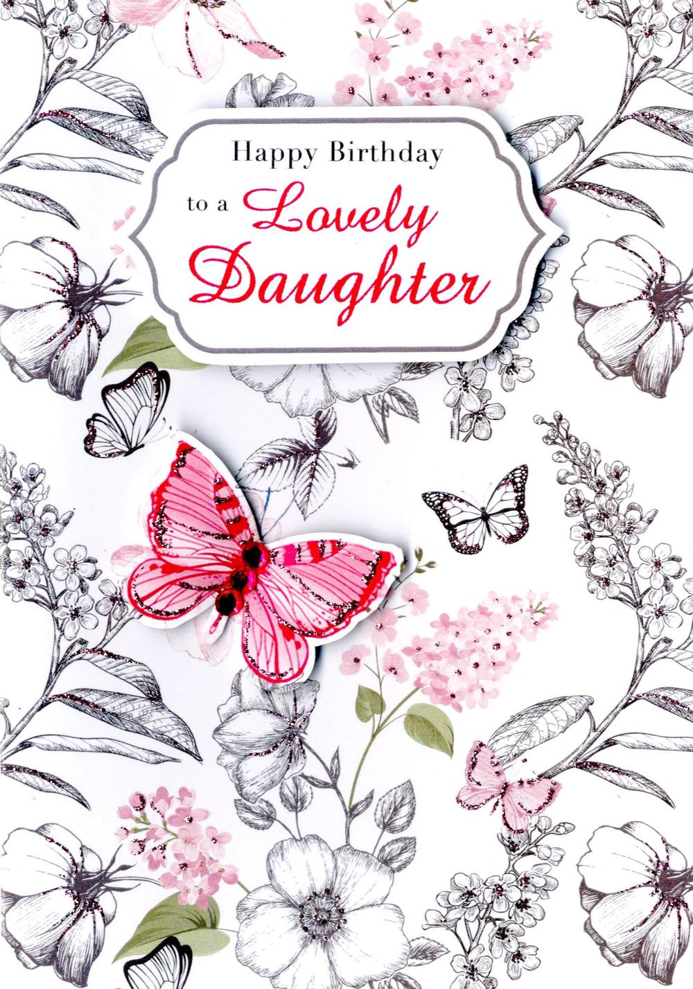 Daughter Birthday Greeting Card