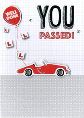 Passed Driving Test Greeting Card