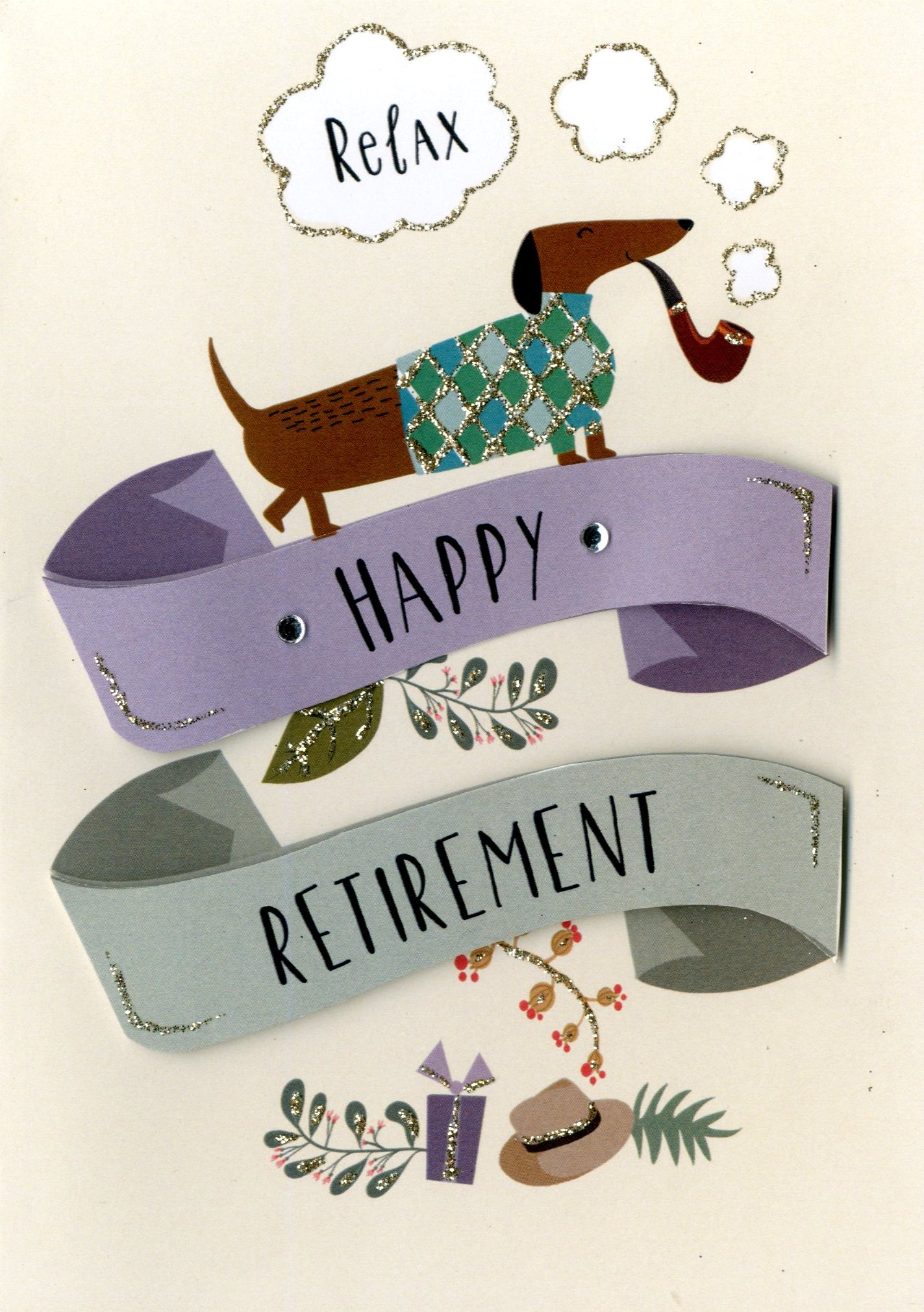 Happy retirement greeting card cards love kates happy retirement greeting card m4hsunfo