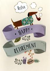 Happy Retirement Greeting Card