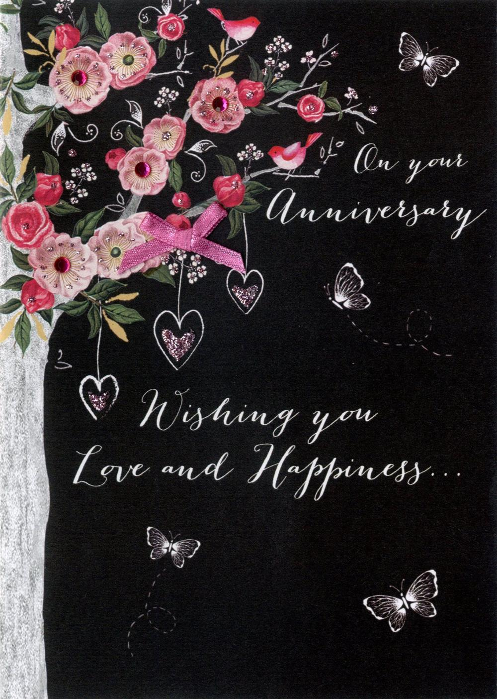 On Your Anniversary Greeting Card