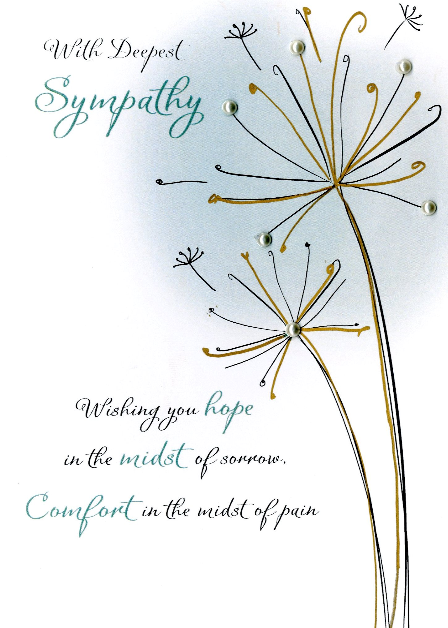Deepest sympathy greeting card cards love kates deepest sympathy greeting card m4hsunfo
