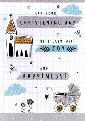 Christening Congratulations Greeting Card