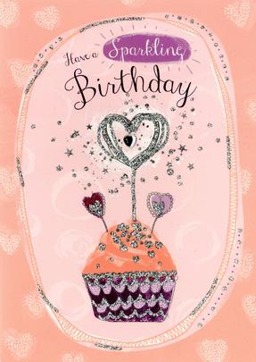 Sparkling Birthday Greeting Card