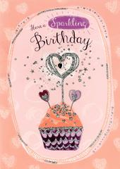 Sparkling Birthday Greeting Card