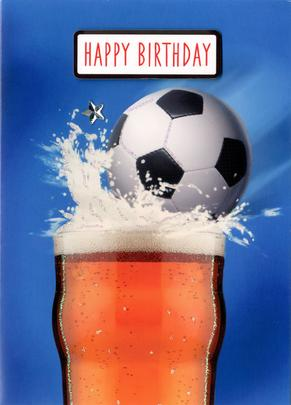 Happy Birthday Cheers Greeting Card