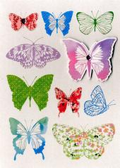 Butterflies Birthday Greeting Card