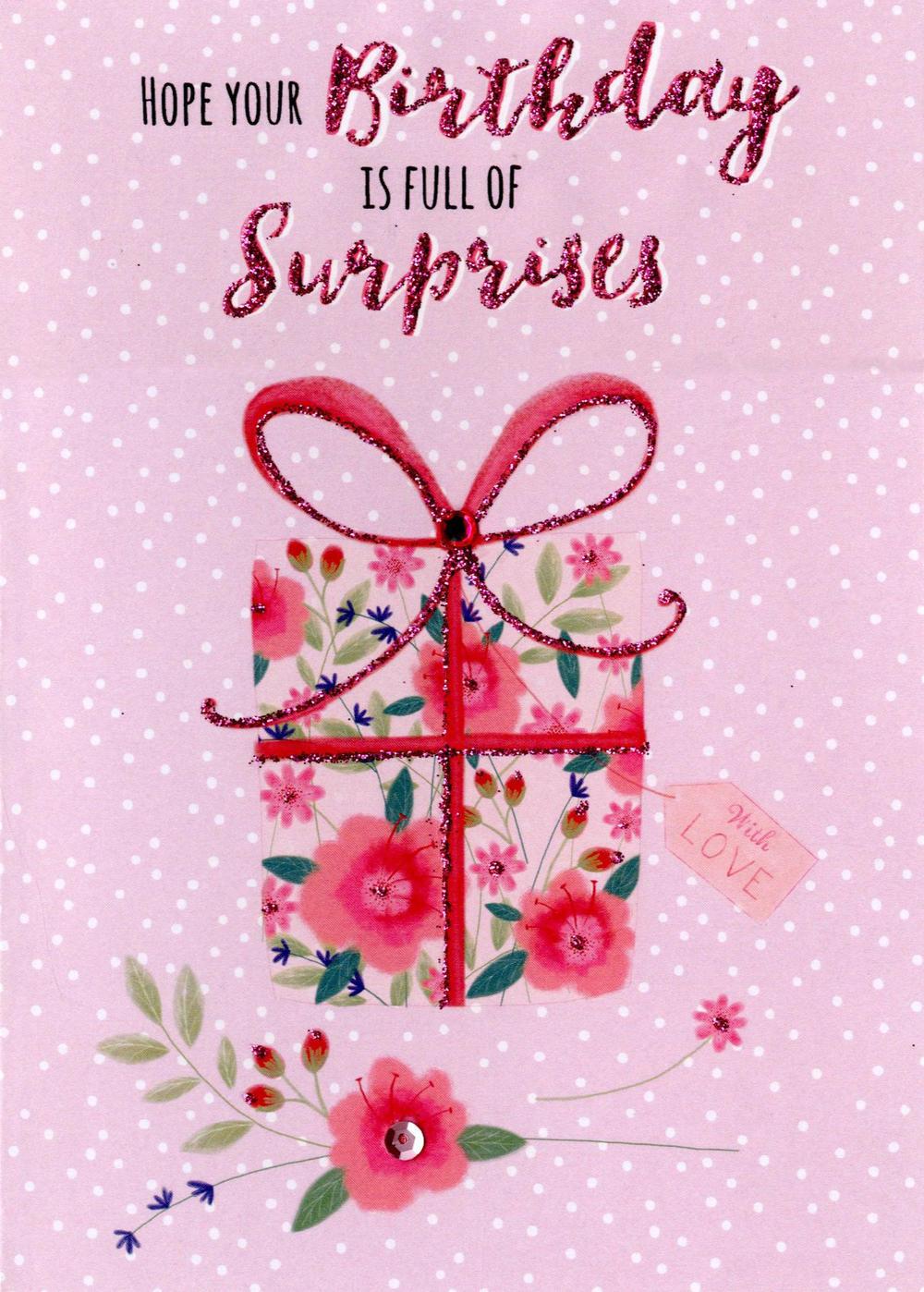 Birthday Surprises Greeting Card