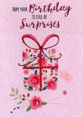 Birthday Surprises Greeting Card