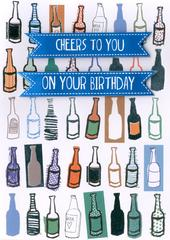Cheers To You Birthday Greeting Card