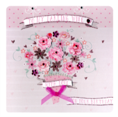 Darling Wife Birthday Keepsake Card