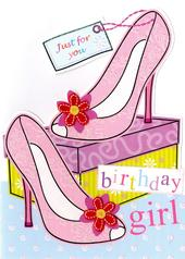 Birthday Girl Birthday Greeting Card
