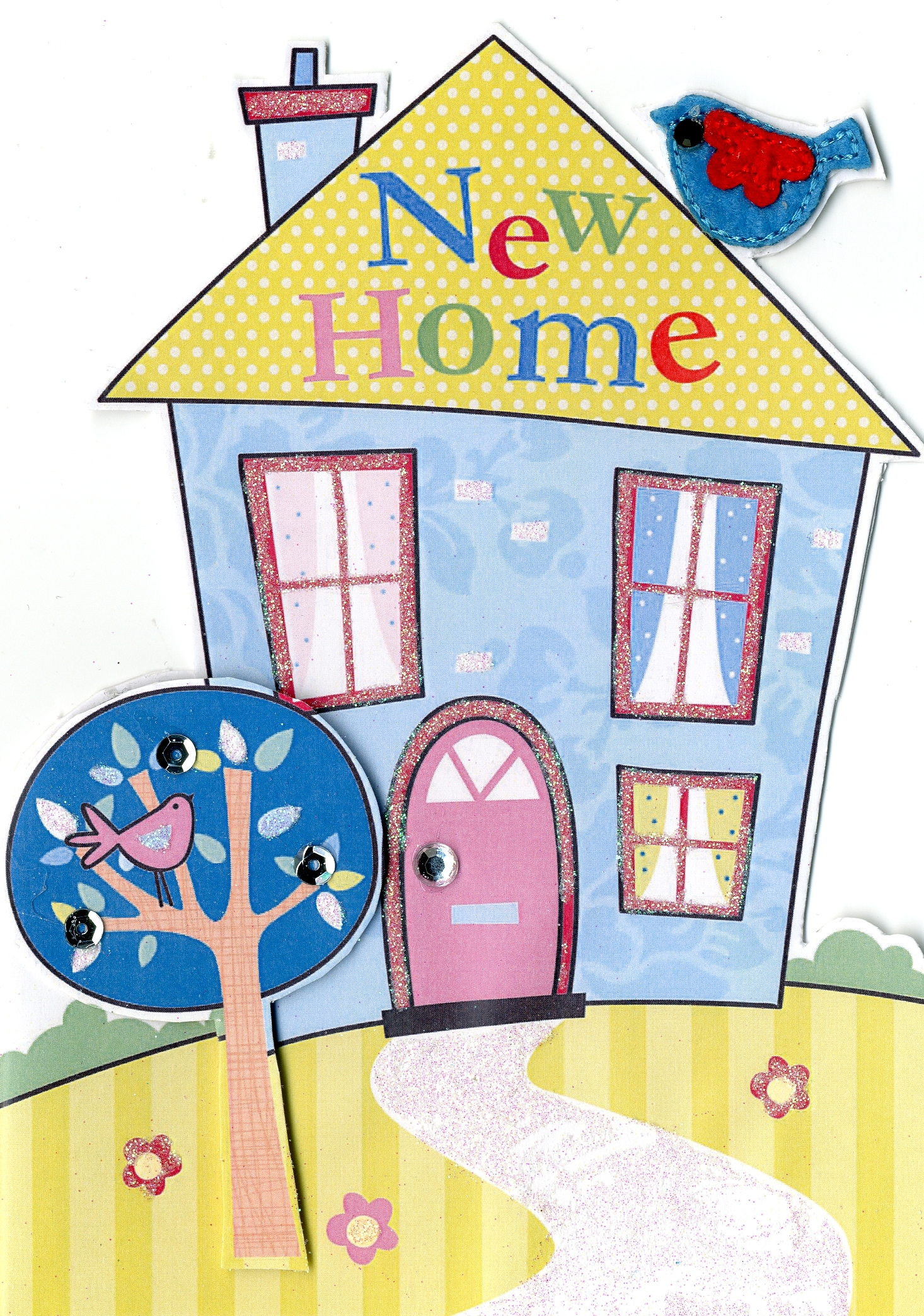 New home greeting card cards love kates new home greeting card kristyandbryce Gallery