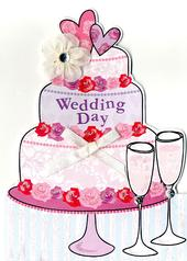Wedding Day Greeting Card