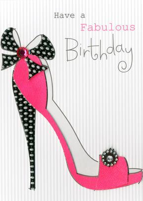 Fabulous Embellished Greeting Card
