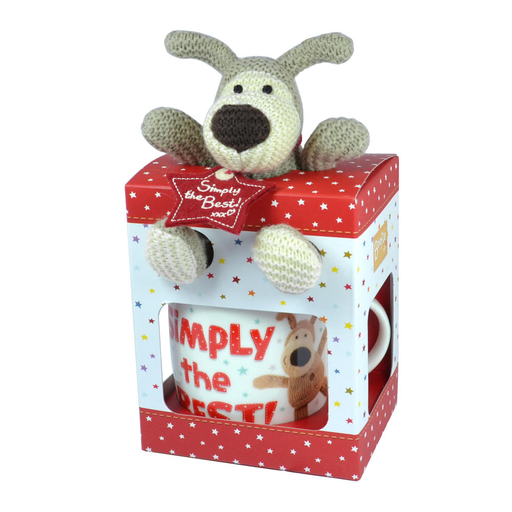 Boofle Simply The Best Mug & Plush Set In Gift Box