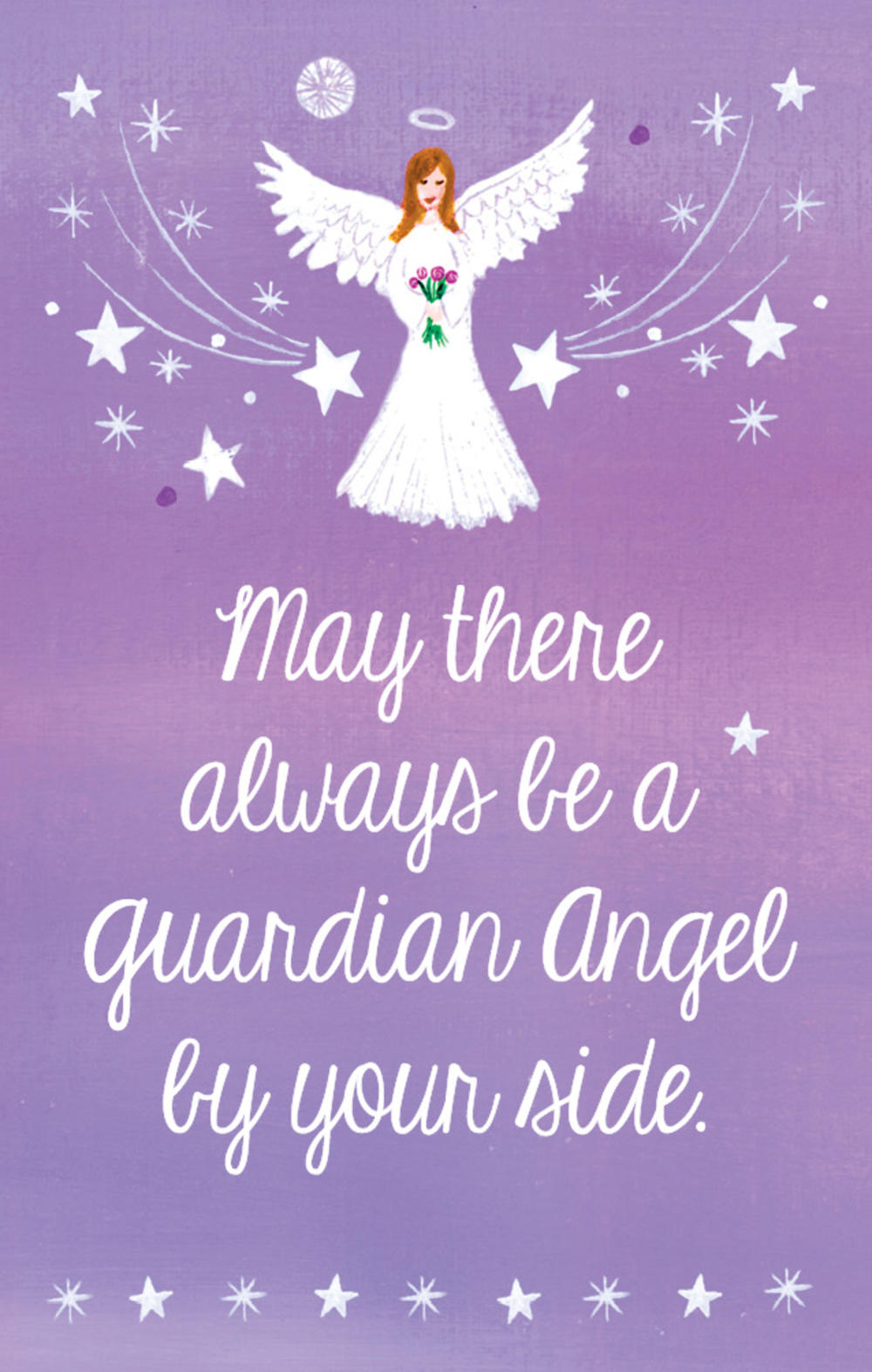 Guardian Angel Heartwarmers Keepsake Credit Card & Envelope