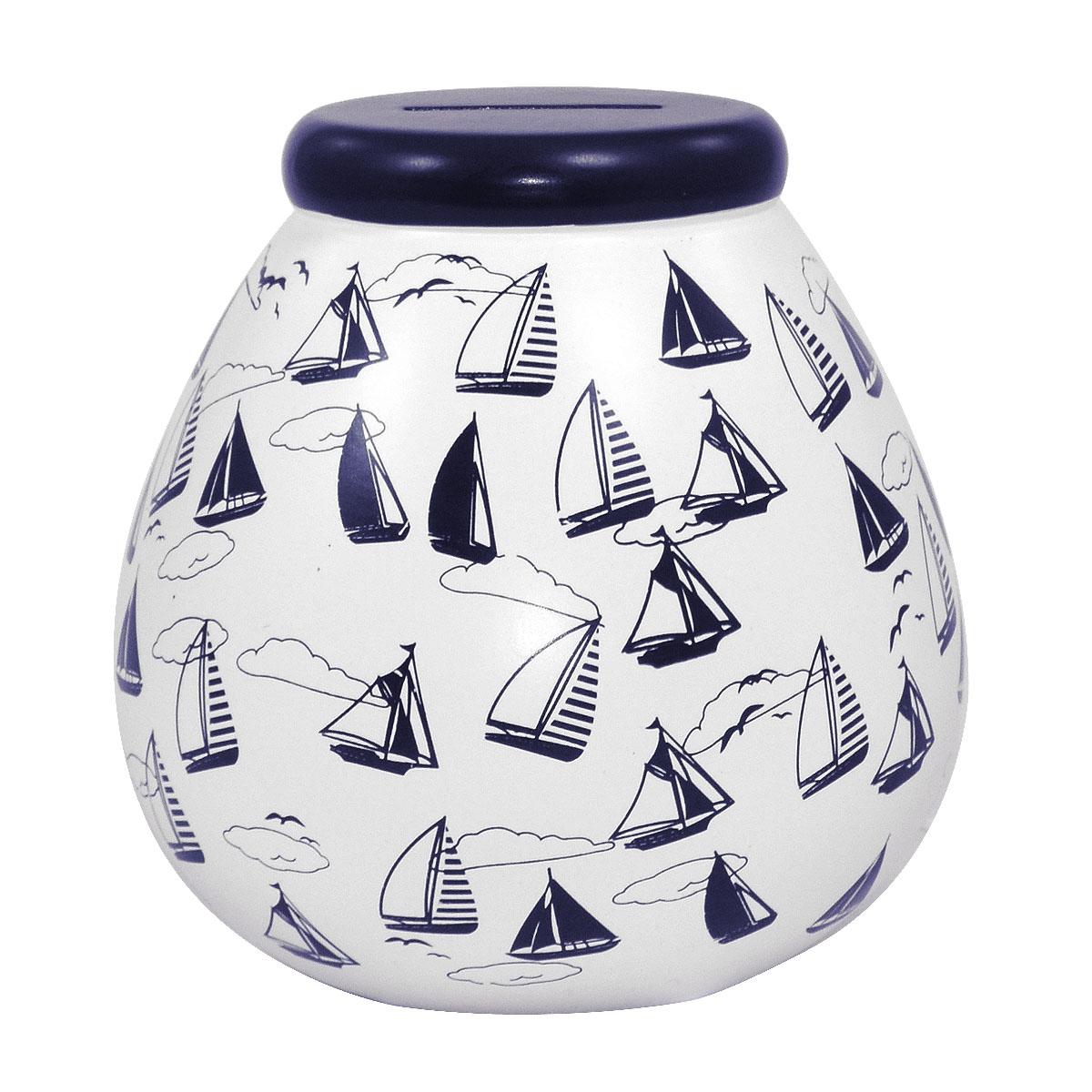 Nautical pots of dreams money pot gifts love kates - Nautical piggy banks ...