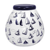 Nautical Pots of Dreams Money Pot