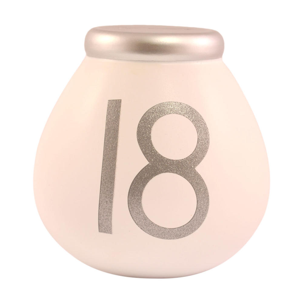 18th Birthday Pots of Dreams Money Pot