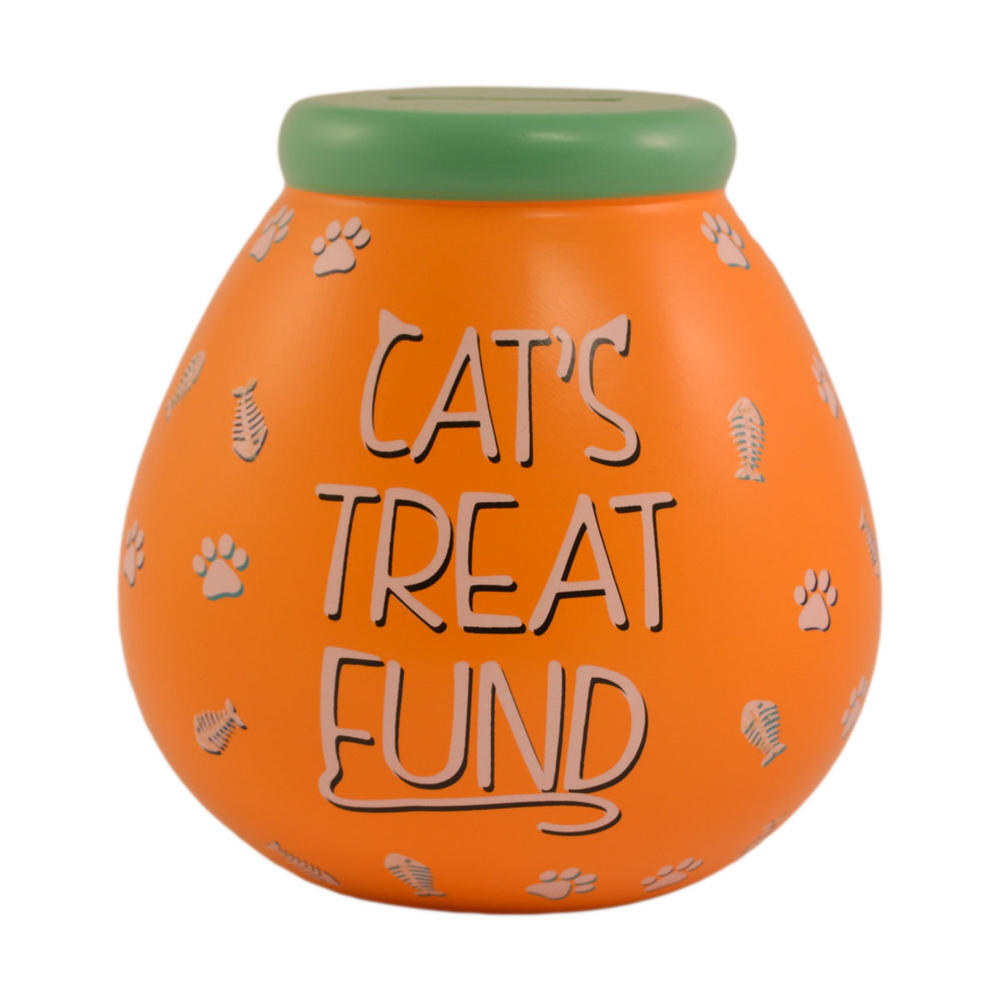Cat's Treat Fund Pots of Dreams Money Pot