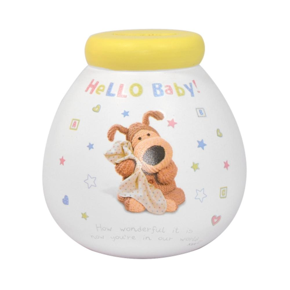 Small Boofle Hello Baby Pots Of Dreams Money Pot