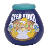 Simpsons Beer Fund Pots of Dreams Money Pot
