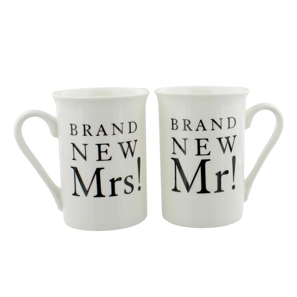 Brand New Mr & Mrs Amore Mug Set In A Gift Box