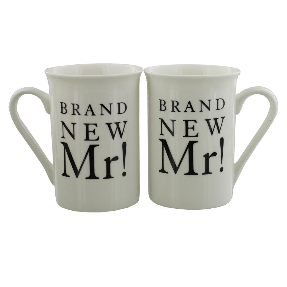 Brand New Mr & Mr Amore Mug Set In A Gift Box