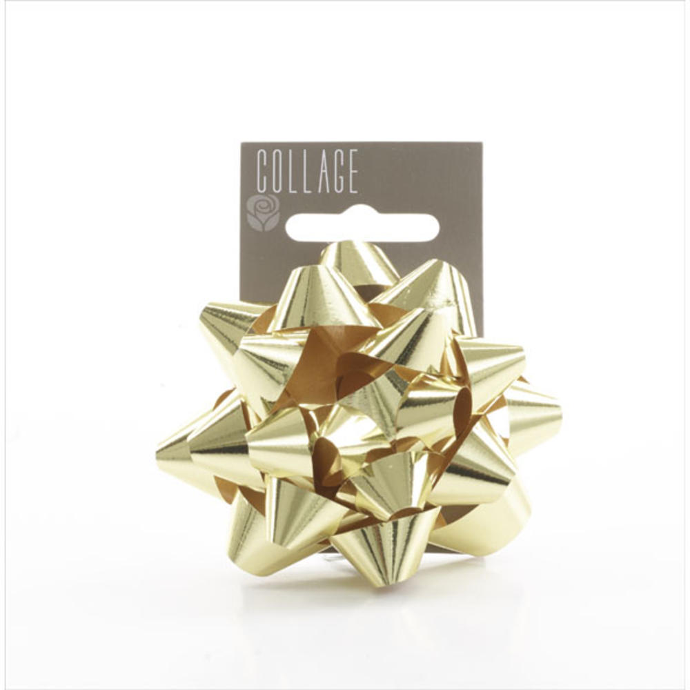 Gift Wrap Bow Individual Gold Wrapping Bows