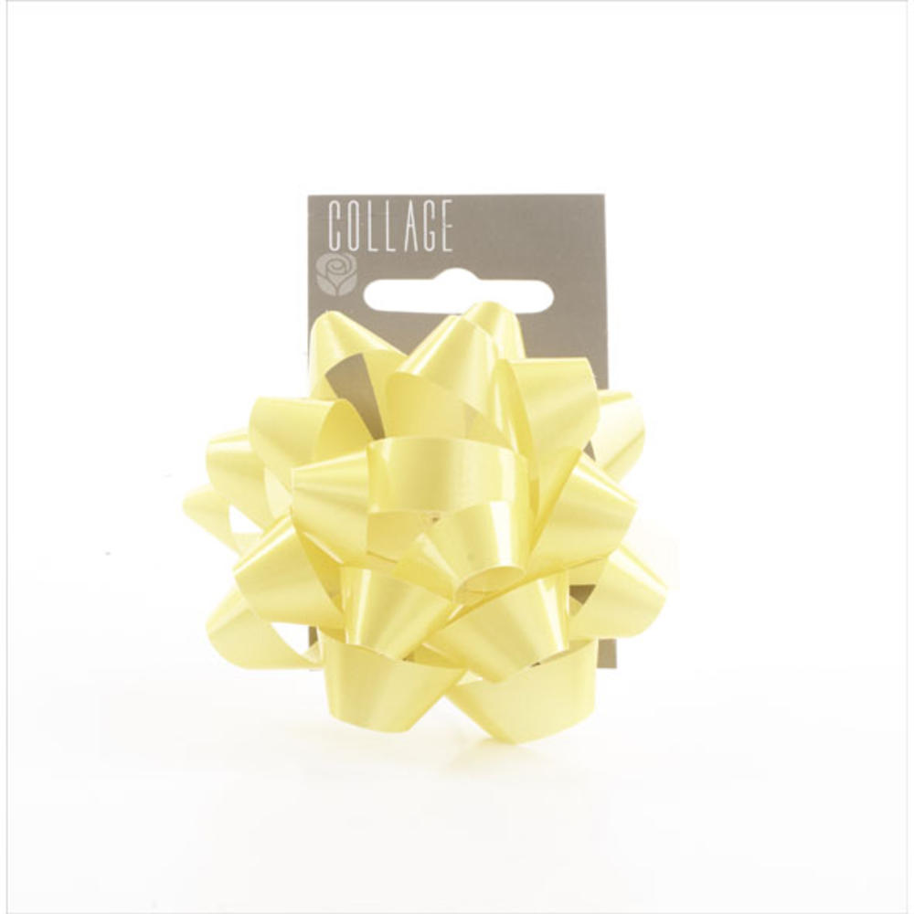 Gift Wrap Bow Individual Yellow Wrapping Bows